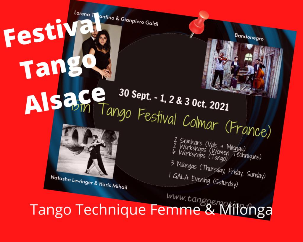 Tango technique femme & Milonga